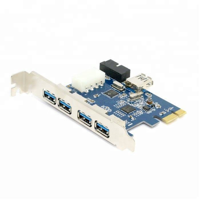 19PIN PCE3U1T-A31 PCIe Controller Card PCI-E to USB 3.0 Type-C Expansion Card