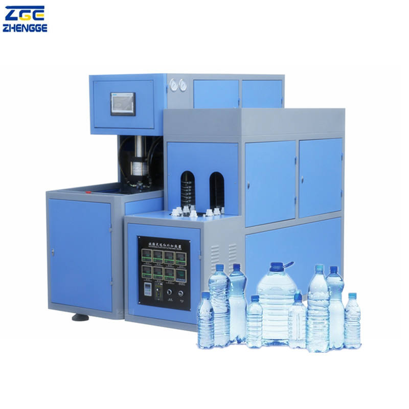 Extrusion Blowing Moulding Machine Making Plastic Water Bottle