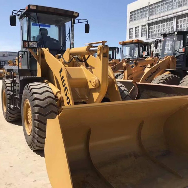 Used Liugong CLG836 Wheel Loader Secondhand Liugong 3ton CLG836 CLG856 Wheel Loader For Sale