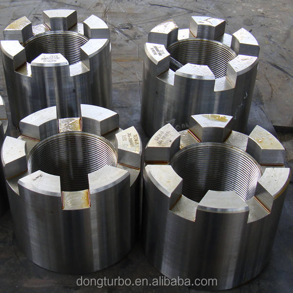 Double Ended Studs/Bolts of steam turbine a range from 1mw to 1700mw