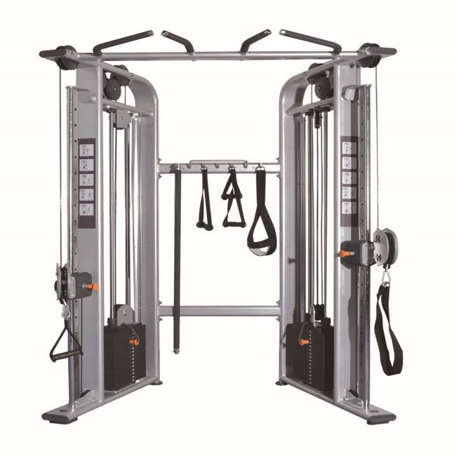 Factory Direct Supply Pin Loaded Gym Equipment V -Pulleyfunctional Station (K-512)
