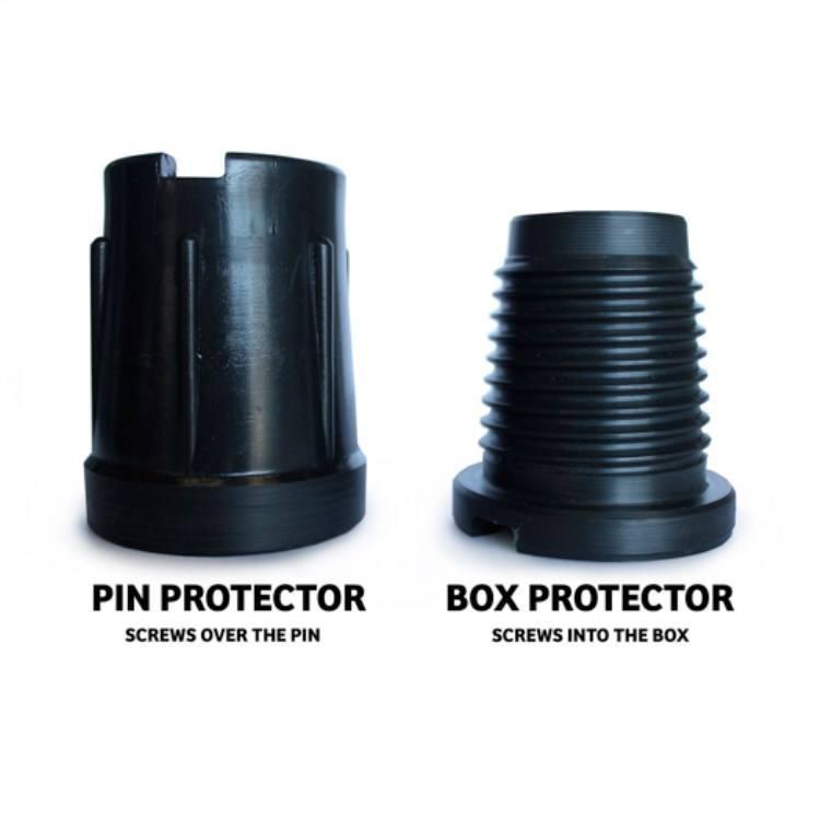 API plastic staal thread protector