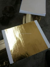Since 1996 Manufacturer of Stamping Foil 140MMX140MM for gilding furniture, ceiling,wall.