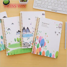 Chile Hot Selling Custom list stationery items for schools blank cover spiral notebook with color pages