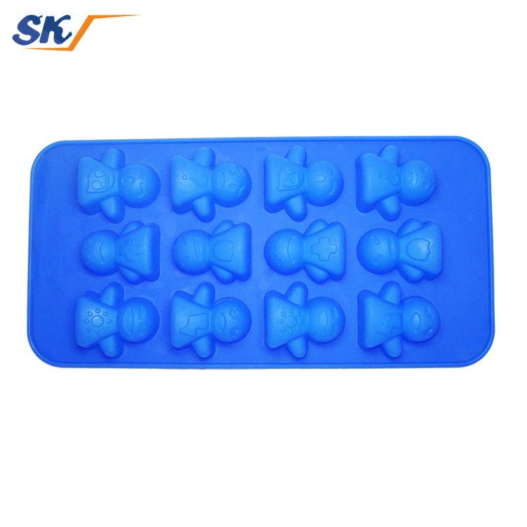 Ultimo Stile di Alta Qualità sano popsicle vassoio del cubo di ghiaccio del silicone non tossico
