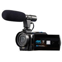 4k wifi camera with 3.0'' touch display and 16x digital zoom digital video camcorder