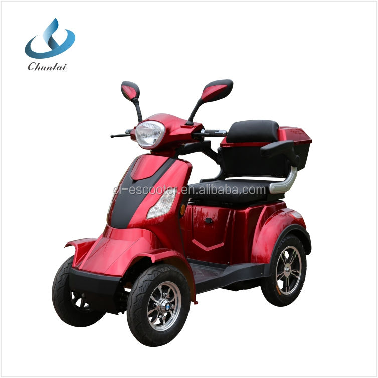 60V 1000w 4 wheel elderly electric scooter