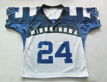 custom sublimation box lacrosse design jersey tackle twill