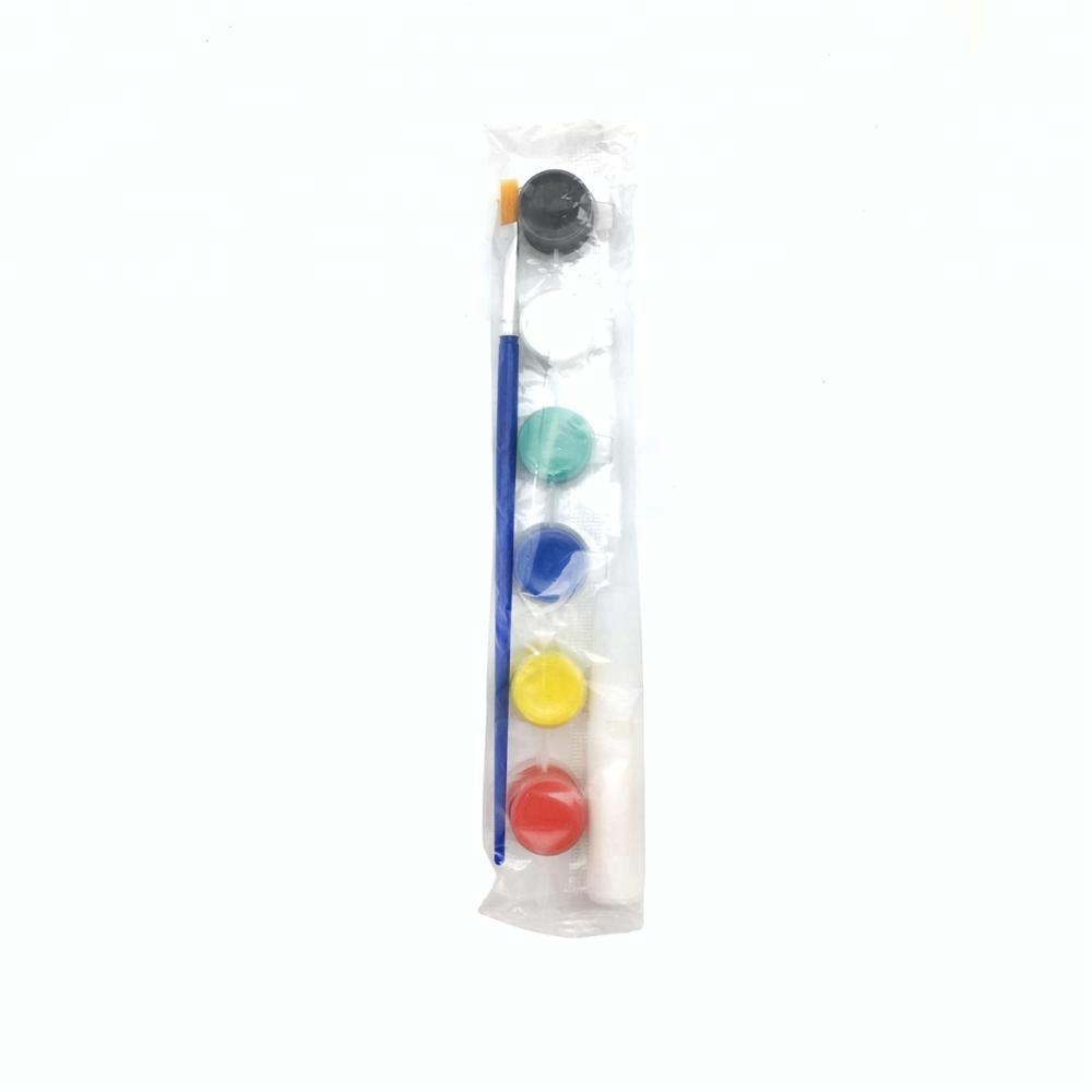Non-toxic Kids Drawing Use 6-color Set Acrylic Paint