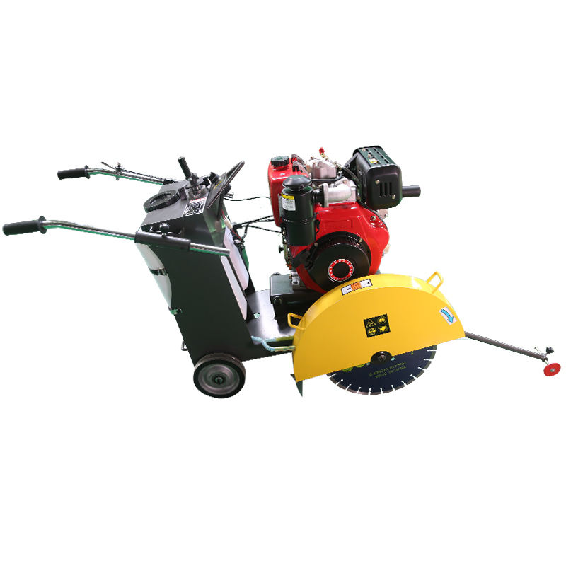 Diamond blade asphalt road cutter/concrete road cutting machine