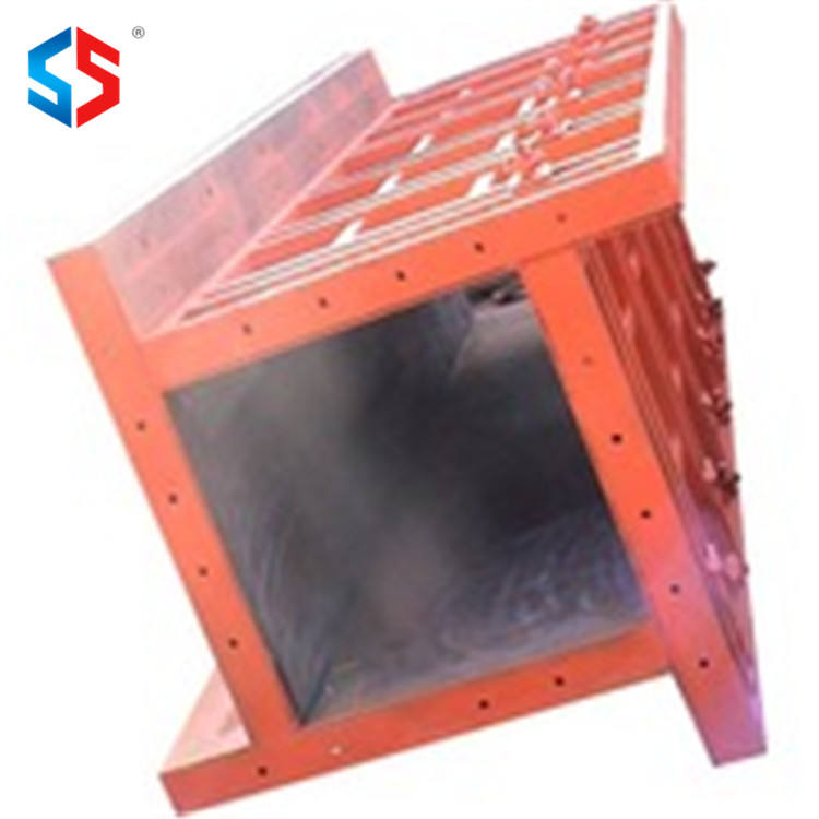 Customized U Ditch Adjustable Steel Concrete Square Column Pillar Form Frame Metal Molds Moulds Formwork in China