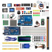 Project Starter Kit for Mega2560 with Tutorial / LCD1602 / Stepper Motor sensor modules kit robot manipulateur