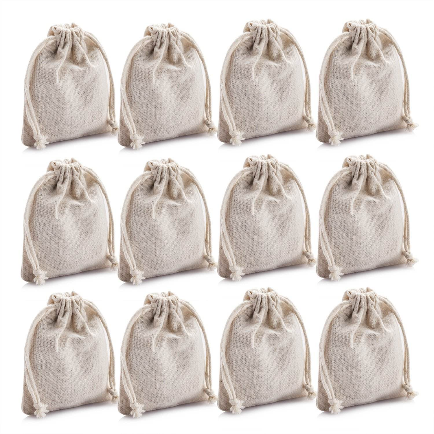 2019 Promotional Tote Gift Custom Unique Organic India Natural Drawstring Small Cotton Bag