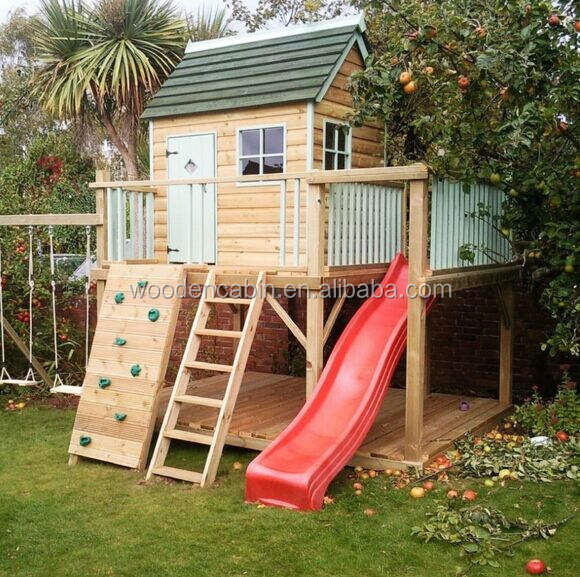 Cheap wooden Children Playhouse for Sale