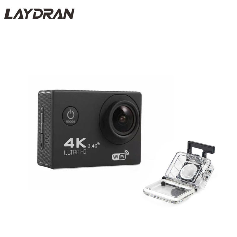 Action Camera Tahan Air Interpolasi 4 K WIFI Sport Cam