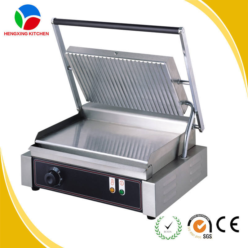 Stainless Steel Electric Panini Grill Machine/Panini Press/Panini Grill