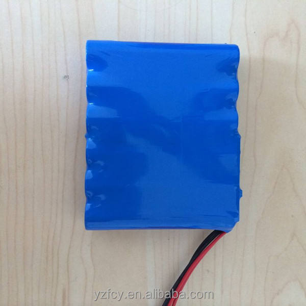 Customized Size and nimh Type 7.2 volt 2400mah battery for torch