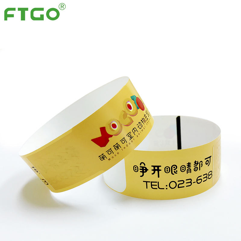 FTGO wholesale custom wristbands maker produce event thermal bracelets