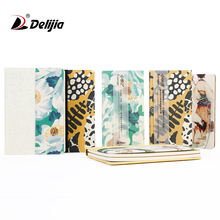 Custom made fresh literature and art hardcover travel diary notebook for students