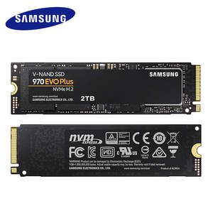Originele SAMSUNG SSD 970 EVO M.2 plus 2280 NVMe 1TB 500GB 250GB Interne Solid State Disk Harde drive voor Laptop