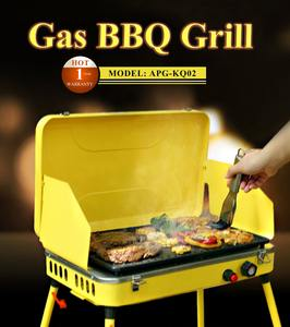 Portable Gas Stove Top Grill BBQ Stove