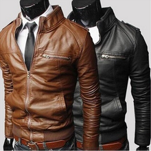 ZY0810A The new design motorcycle men's leather jackets