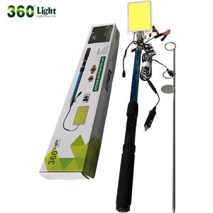 Fishing Rod Camping Light Outdoor Multifunction Lamp 12v LED Solar Camping Light