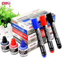 Refillable ink quick dry water-based whiteboard marker pen