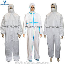 Free Sample Category 3 Type 5/6 Disposable Coveralls