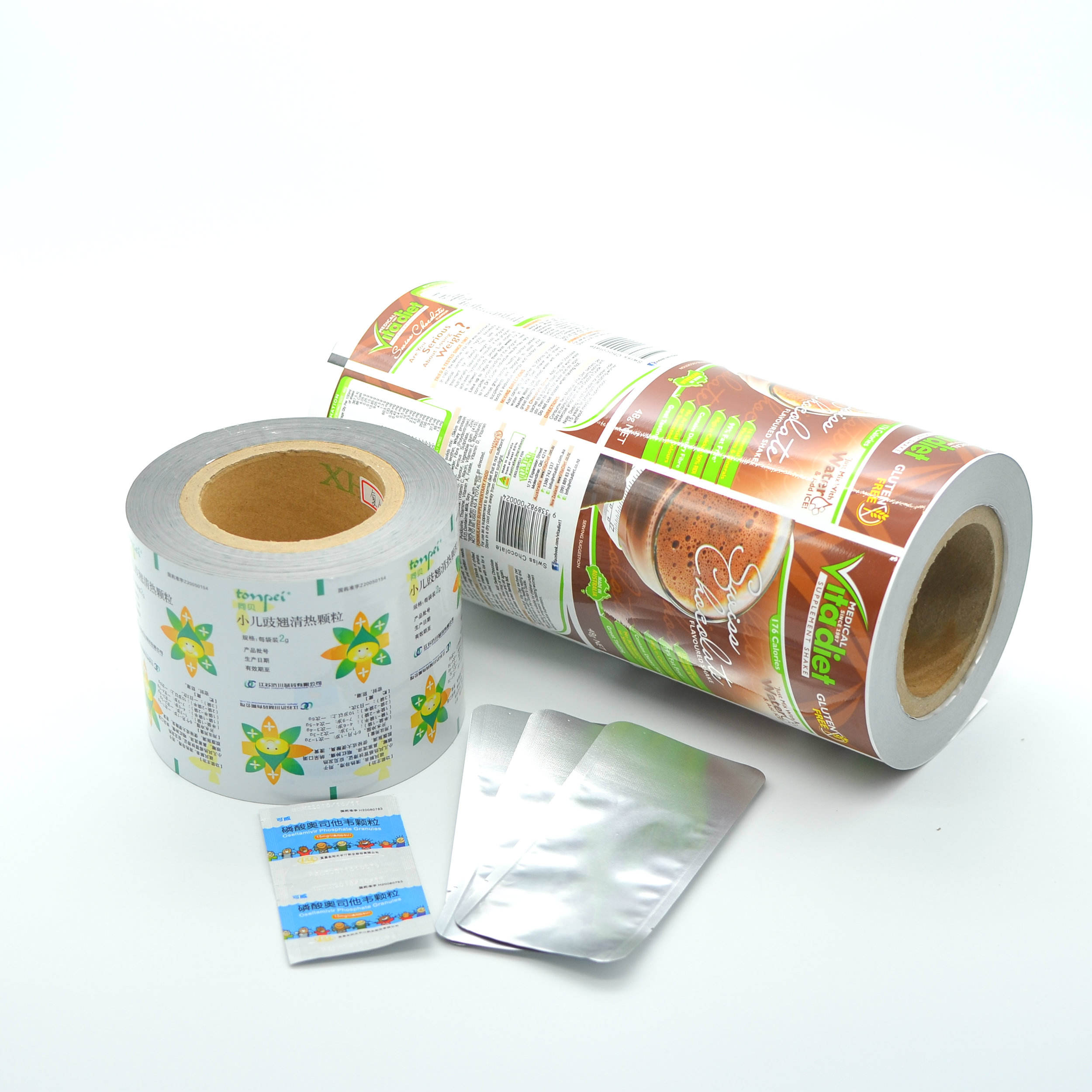 BOPP/AL/CPP composite film for making sachets
