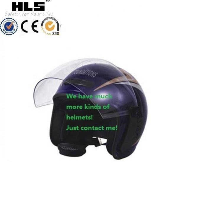 Motorcycle Parts Motorcycle German Style Dot Carbon Fiber Cruiser Biker Half Helmet Size M L Xl China Factory