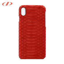 Indonesia high quality python skin phone case for iPhone x 10 ten case python for iPhone python case