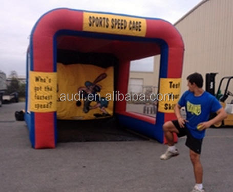inflatable Baseball Radar Speed Pitch game