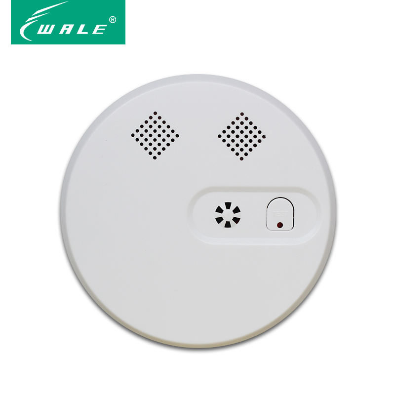 2 Year Warranty Fire Alarm System 9V Hotels Wireless Smoke Detectors Smoke Alarm