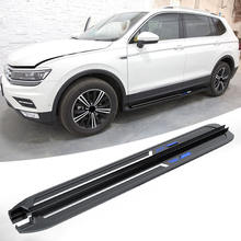 Best price SWAY SUV aluminum alloy side steps bar running board used for 2016 vw Volkswagen tiguan 2018  2017