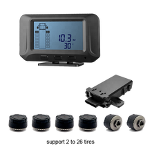 truck tpms Factory wireless tire pressure monitoring system for 6 tires