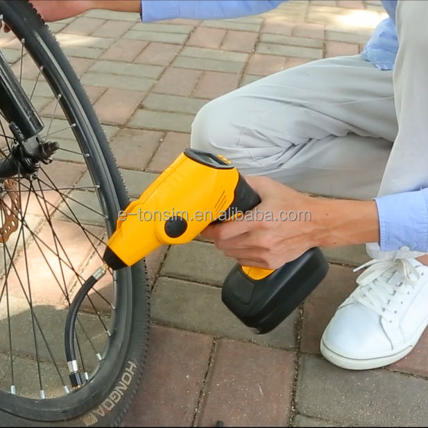 Portable air compressor nearest gas station with air pump for bike with CE