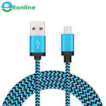 3FT/6FT/9FT Nylon Braid Micro for Samsung USB Cable Fast Charging High Speed Data Cable Best USB charging cable