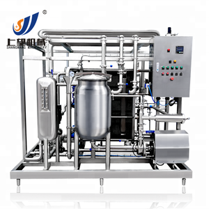 Plate milk pasteurizer