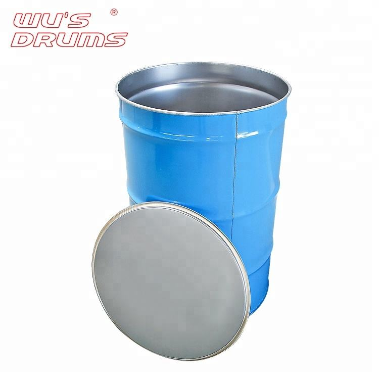Chemical Usage 200 Liter Metal Container Professional Paint Barrel Drum Set For Oil