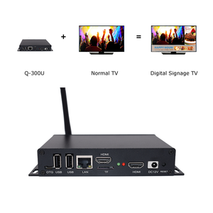 Q-300U Android Digital Signage Media Player with Live TV featured in