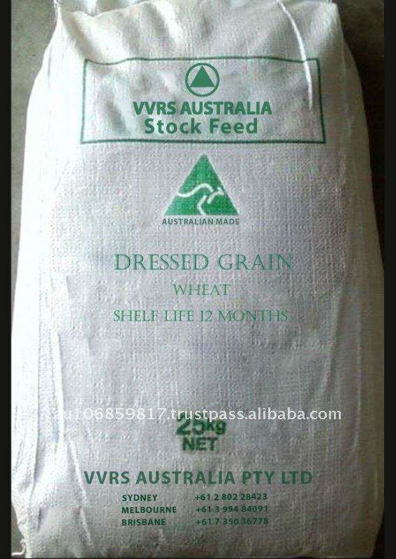 Animal feed for Dressed Grains - Wheat