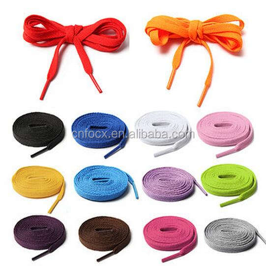 Colourful Athletic Shoe laces / sport shoelace / fat shoe lace