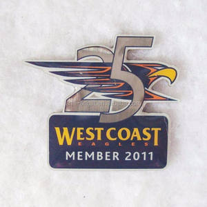Custom Offset Print America Eagles Trading Pins