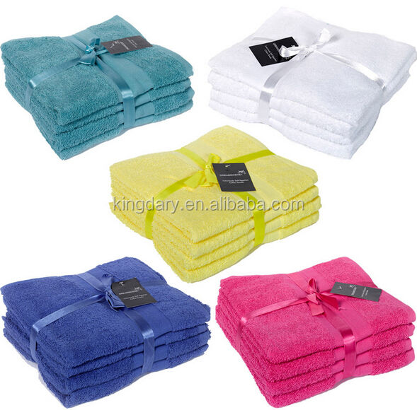 Luxury 100% Egyptian Cotton Hand Towel Bale - 4 Piece Set towels