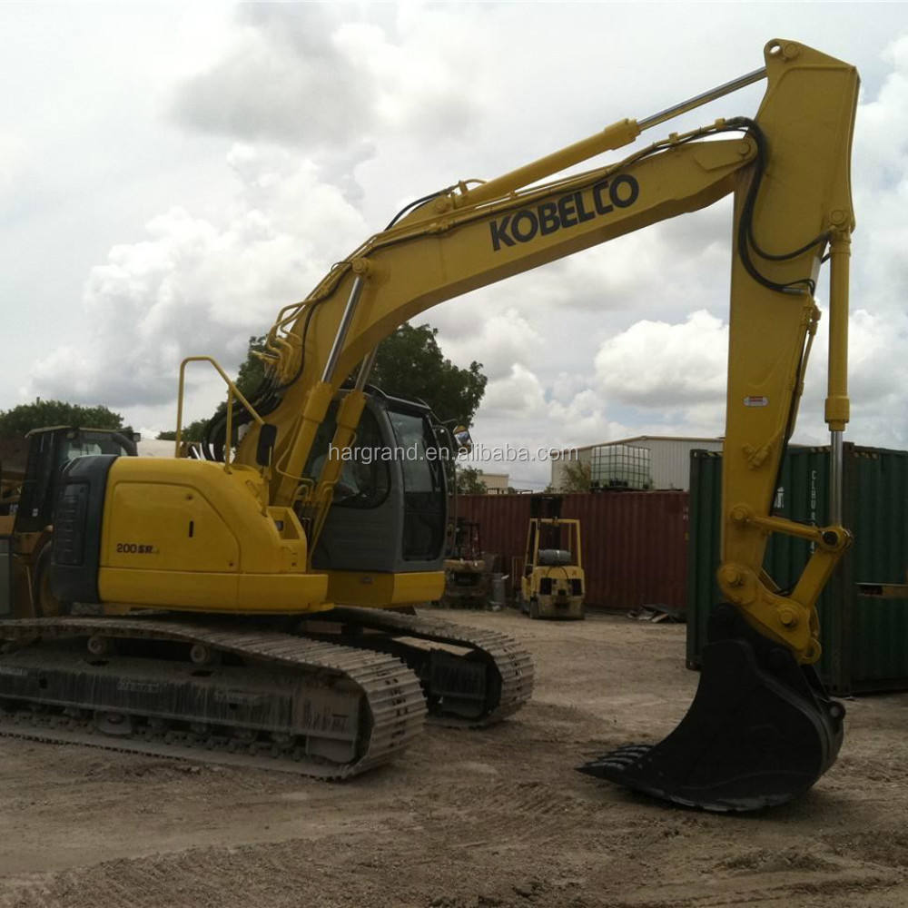 Used Kobelco Crawler Excavator,Secondhand Kobelco SK200SR Excavator,Good condition Kobelco SK200 Excavator