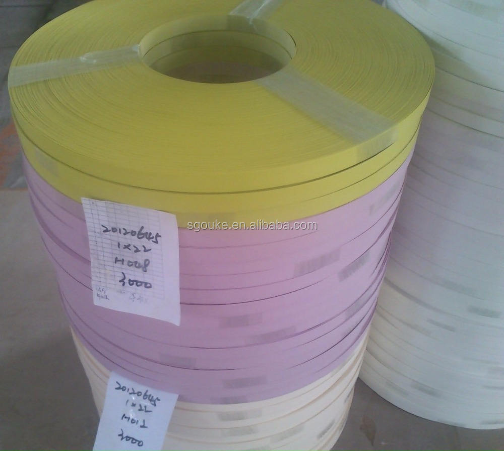 soild colour pvc edge banding use for furniture