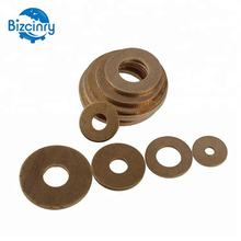 M6 Thin Flat Washer Brass Copper Round Ring Washer 12MM
