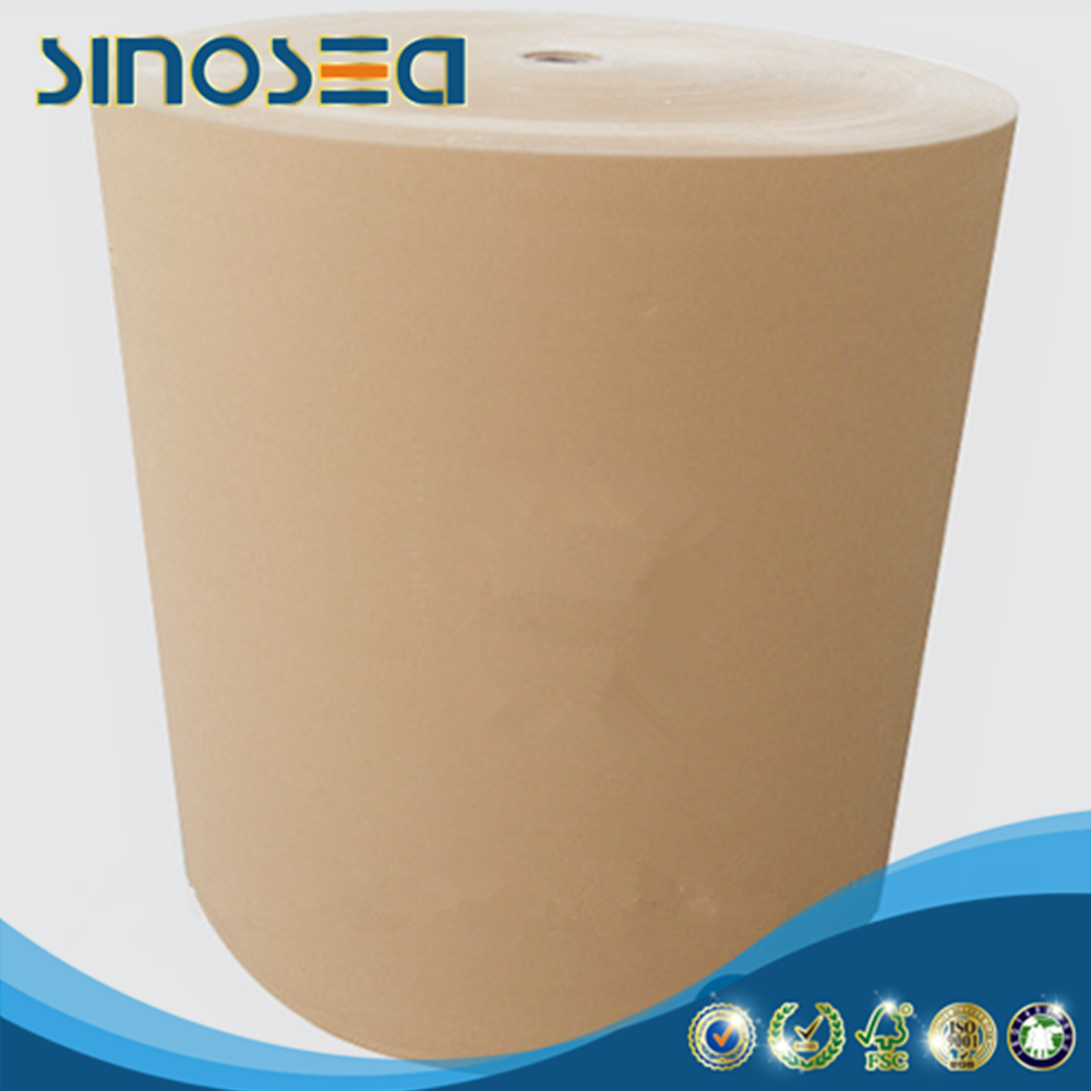 White top kraft liner paper jumbo roll in cheap price