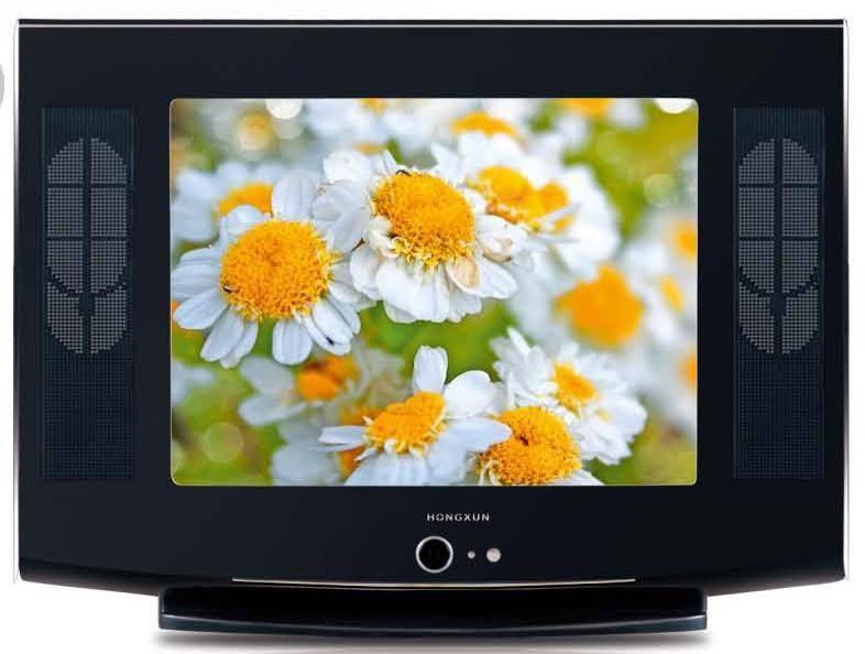 2015 novo design 21 polegadas crt tv skd fábrica